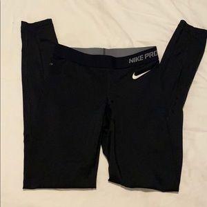 Black Nike Pro Dri Fit 7/8 Leggings sz XS